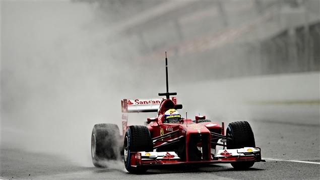 Felipe Massa à Barcelone