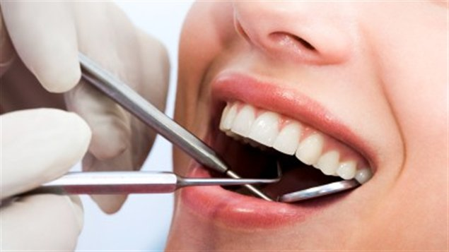 Un examen dentaire