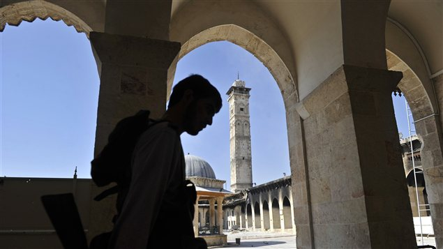 Mosquée des Omeyyades à Alep