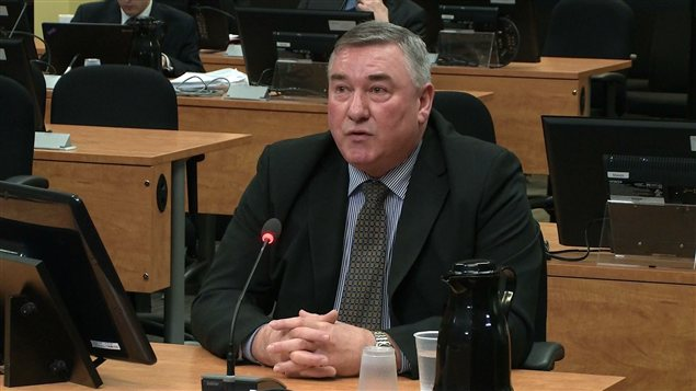 Serge Pourreaux, directeur de l'approvisionnement pour la Ville de Montréal de 2003 à 2006.