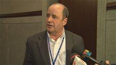 Le président des cols blancs Jean Gagnon dénonce le «spectacle» du maire Labeaume