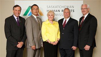 Les membres de la Commission des droits de la personne de la Saskatchewan