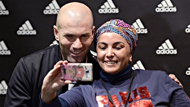 Zinédine Zidane en promotion