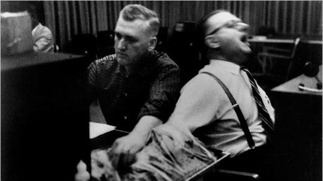 L'expérience de Milgram, dans les années 60