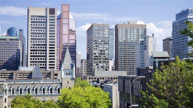 Une vue de l'Université McGill.