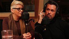 Yasmin Grothé et Félix Larivière  ©Radio-Canada/Marie-Sandrine Auger