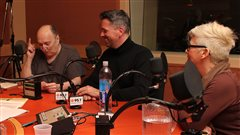 Lucien Francoeur, Félix Larivière et Yasmin Grothé  ©Radio-Canada/Marie-Sandrine Auger