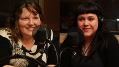 Kathleen Fortin et Julie de Lafrenière  ©Radio-Canada/Marie-Sandrine Auger