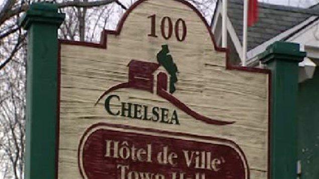 L'hôtel de ville de Chelsea en Outaouais