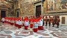 Le déroulement du conclave