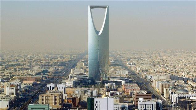 La Ville de Riyad en Arabie saoudite