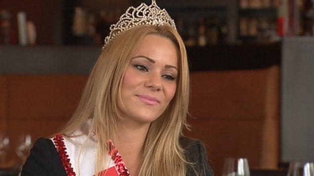 Ines Gavran est la gagnante du concours Miss Canada en 2013.