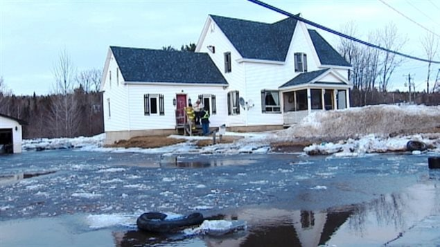 Inondation à Stanley