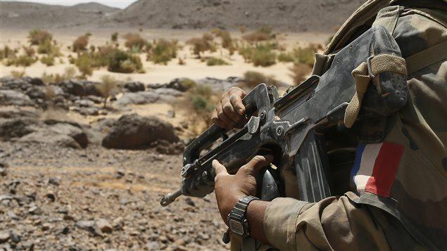 Un soldat français dans le Nord Mali