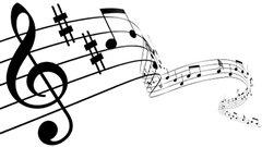 Des notes de musique
