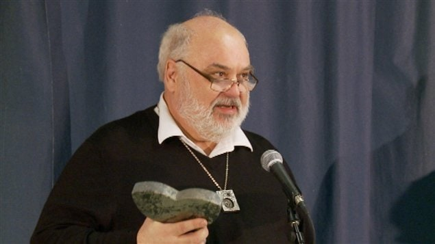 Le récipiendaire du prix du Nouvel-Ontario, Gaston Tremblay