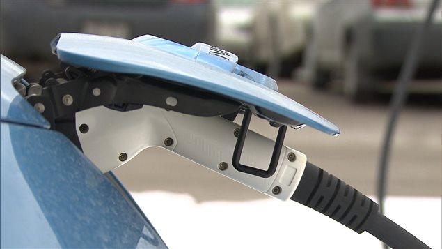 Recharge électrique d'Hydro-Québec pour automobile