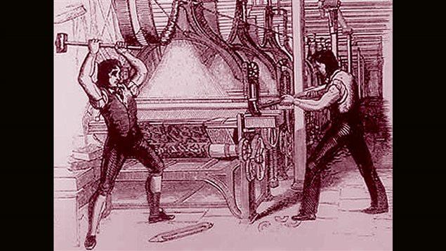 Bris de machines par les luddites