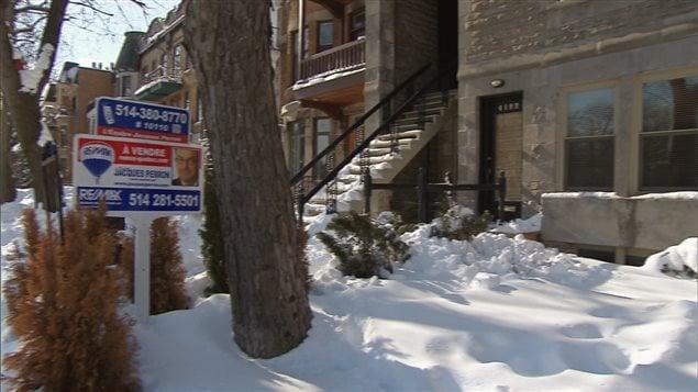 منزل معروض للبيع في مونتريال (أرشيف).
