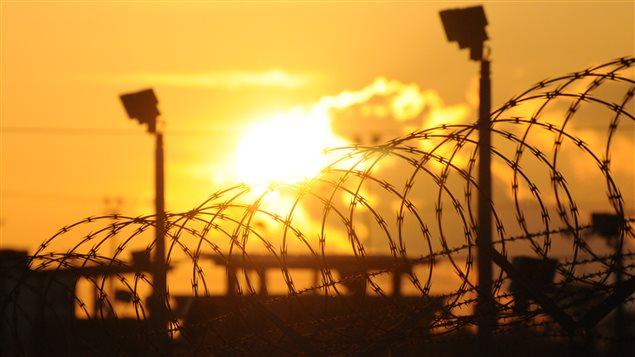 Le centre de détention américain «camp Delta», à Guantanamo Bay