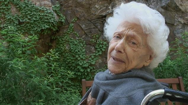 Huguette Oligny, le goût de vivre