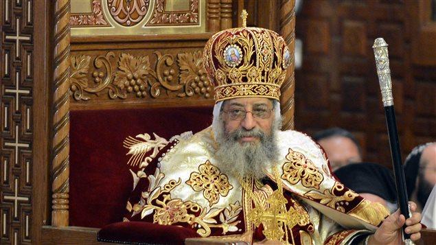 صورة من الأرشيف للبابا تواضروس الثاني، رأس الكنيسة القبطية الأرثوذكسية