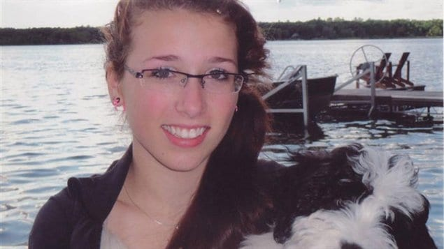 Rahtaeh Parsons, de Halifax, était victime de cyberintimidation depuis l'âge de 15 ans, selon sa mère.  © Facebook