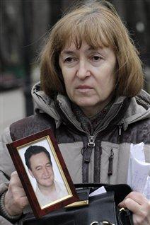 Nataliya Magnitskaya, madre del abogado ruso Sergei Magnitsky quien murió en prisión y dio origen a la ley que hoy permite sancionar a rusos considerados como presuntos violadores de Derechos Humanos.