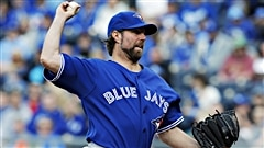 Dickey muselle les Royals