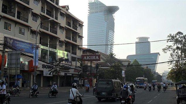 Phnom Penh, au Cambodge