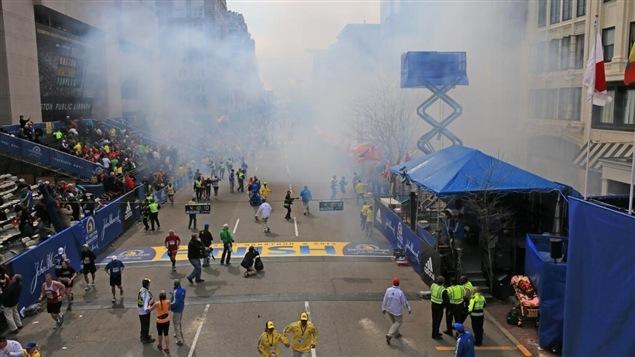 Explosion à Boston