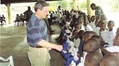 Des enfants dans un orphelinat de C�te d'Ivoire