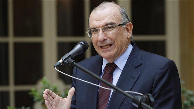 Humberto de la Calle, jefe de la delegación del gobierno colombiano que dialoga con la guerrilla de las FARC, en Cuba.