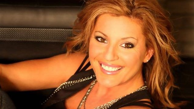 La chanteuse Guylaine Tanguay