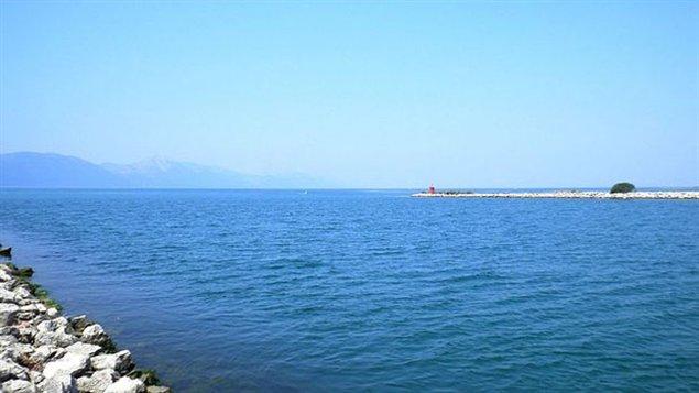 La bouteille a été trouvée près de cette section de la côte croate.