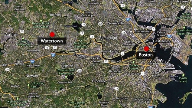 Watertown et Boston