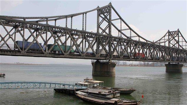 Le pont de l'amitié sino-coréenne