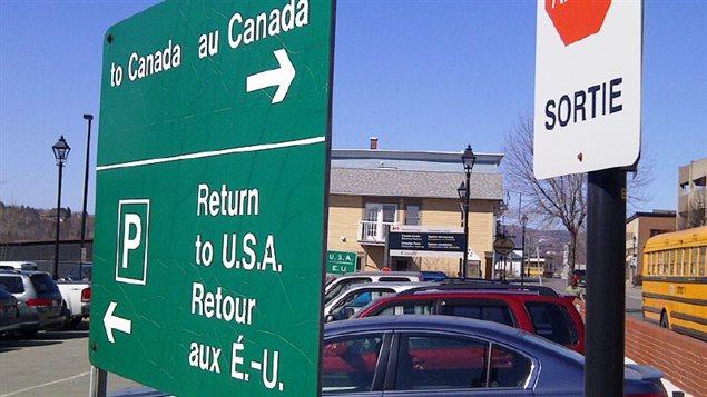 Frontière Canada - États-Unis