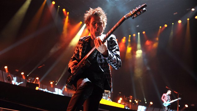 Le chanteur de Muse Matthew Bellamy