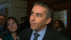 Le ministre des Finances du Qubec, Nicolas Marceau