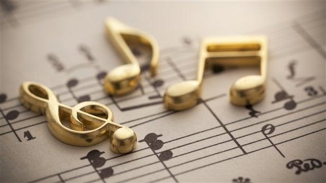 Partition musicale et notes