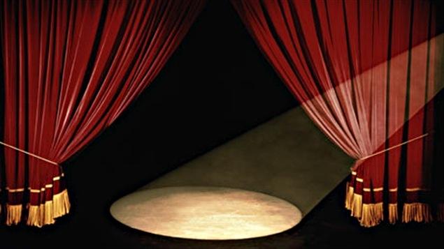 Des rideaux de scène