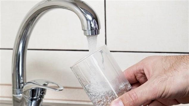 L'eau ne contenait aucune bactérie