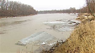 Avertissement d'inondations de Saint-Lazare à Grand Valley