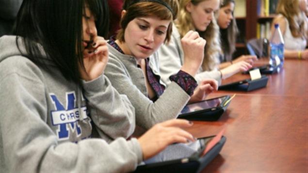 L'utilisation de l'iPad en classe.