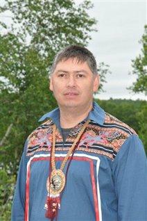 Le chef Christian Awashish de la communauté atikamekw d'Opitchewan