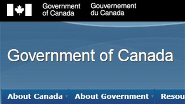 le gouvernement conservateur impose le bleu sur ses sites web canadiens. Black Bedroom Furniture Sets. Home Design Ideas