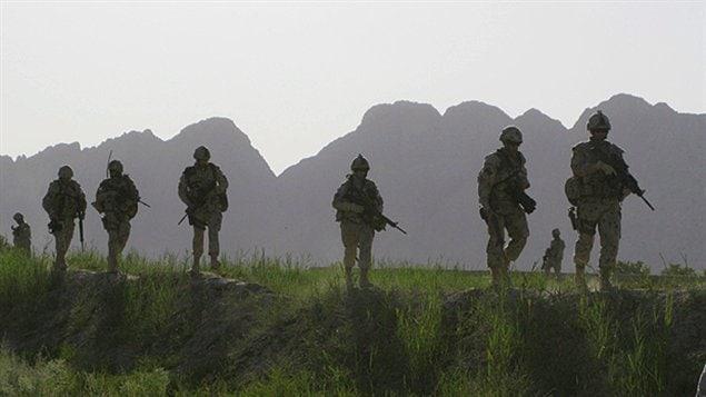 Soldats de l'armée afghane   Photo : Presse canadienne