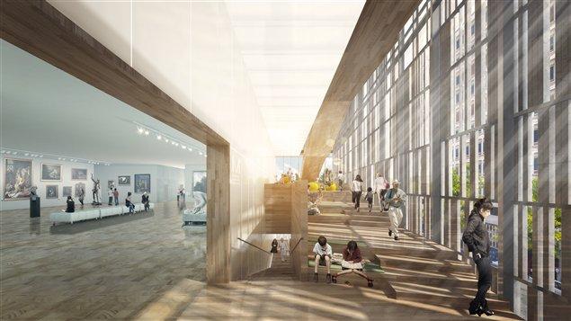 Projet Pavillon 5 du Musée des beaux-arts de Montréal