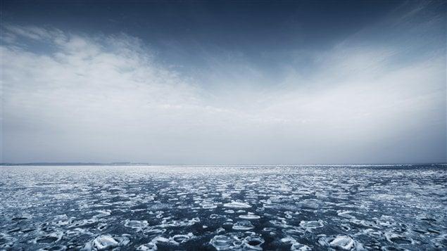 Dix ans de travail ont été nécessaires à la préparation de la carte du fond sous-marin, dessinée par plusieurs scientifiques travaillant tant dans des laboratoires à Ottawa que dans des camps d'observation des glaces au nord de l'île Ellesmere, où ils n'ont pas hésité à plonger pour typographier le plancher océanique à des milliers de mètres de profondeur.